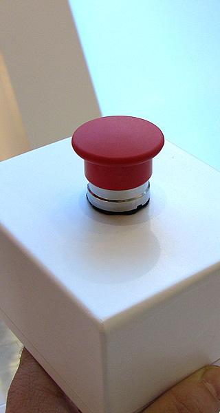 <p>Il pulsante wifi che aziona la Slot Machine. Il pulsante ha un raggio d'azione di circa 10 metri.</p>